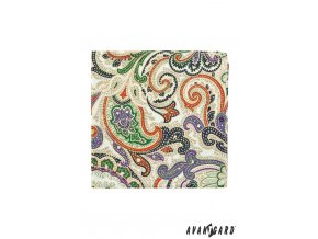 Kapesníček AVANTGARD PREMIUM 612-61076 Hnědá (Barva Hnědá, Velikost 34x34 cm, Materiál 100% polyester)