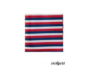 Barevný kapesníček - trikolóra