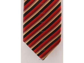 Kravata AVANTGARD 559-81001 Bordó (Barva Bordó, Velikost šířka 9 cm, Materiál 100% polyester)