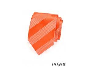 Kravata AVANTGARD 559-1333 Oranžová (Barva Oranžová, Velikost šířka 7 cm, Materiál 100% polyester)