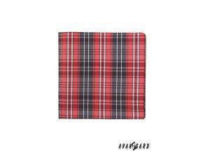 Kapesníček AVANTGARD LUX 583-1619 Červená (Barva Červená, Velikost 28x28 cm, Materiál 100% polyester)
