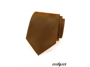 Oranžová luxusní kravata se šikmými velmi tenkými proužky _