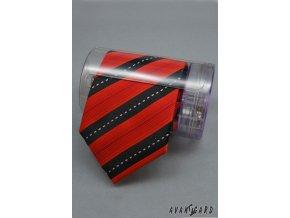 Pouzdro na kravatu a manž. knoflíky TIESAVE 904-0 Čirá (Barva Čirá, Velikost 0, Materiál plast)
