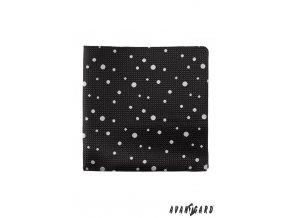 Kapesníček AVANTGARD LUX 583-1317 Černá (Barva Černá, Velikost 0, Materiál 100% polyester)