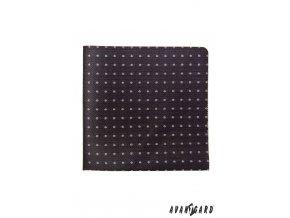 Kapesníček AVANTGARD LUX 583-1359 Černá (Barva Černá, Velikost 28x28 cm, Materiál 100% polyester)